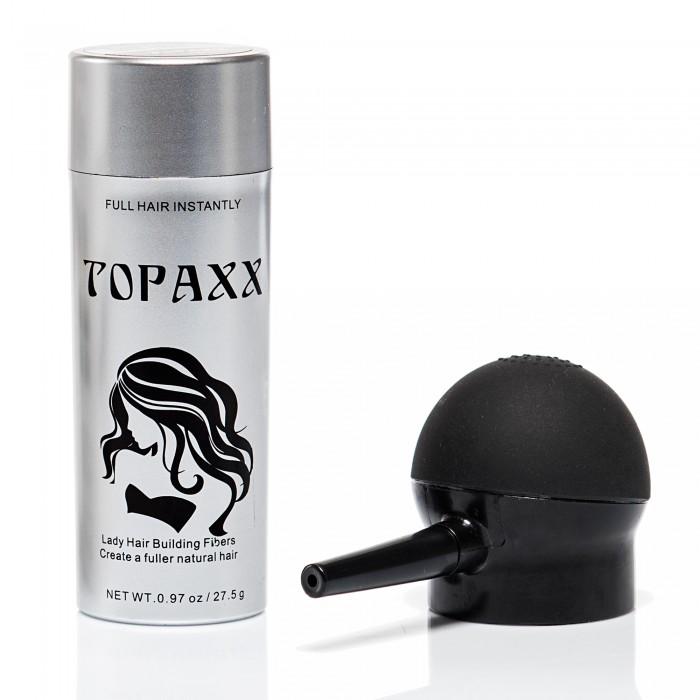 Topaxx Lady Saç Fiber Tozu 27,5 gr+Topaxx Aplikatör